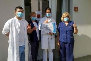 liječnici klinike dr. fran mihaljevic - donacija porsche croatia - 2020