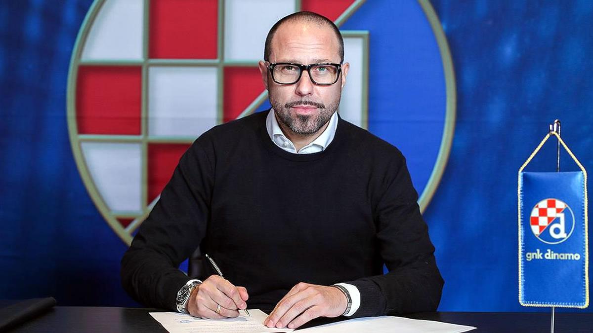 igor jovičević - glavni trener - dinamo zagreb - 2020.