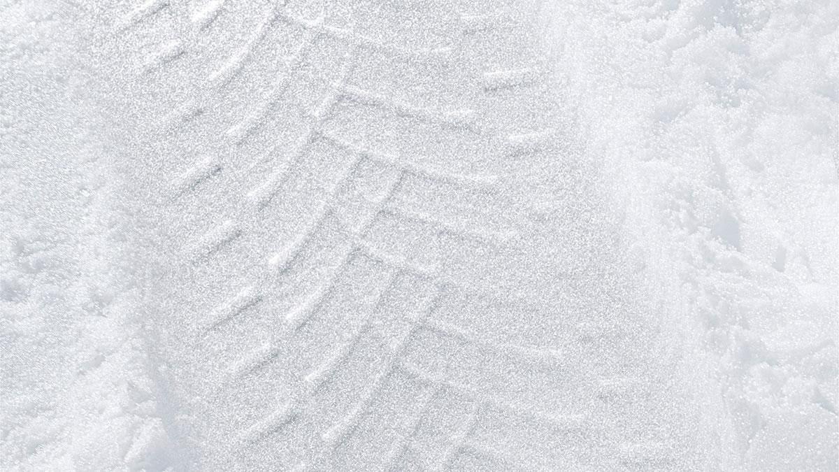 trag gume u snijegu 2020