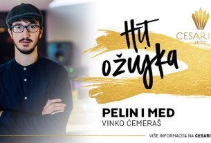 vinko ćemeraš - pelin i med - cesarica 2020 - hit ožujka