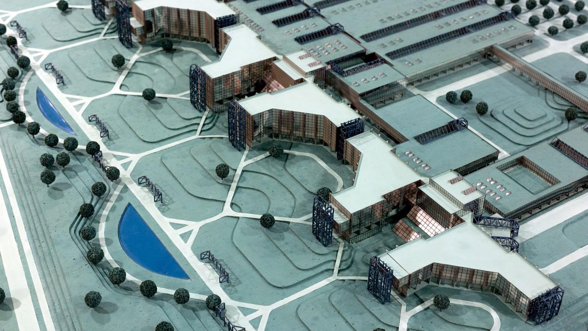 sveučilišna bolnica zagreb blato - maketa - 2020