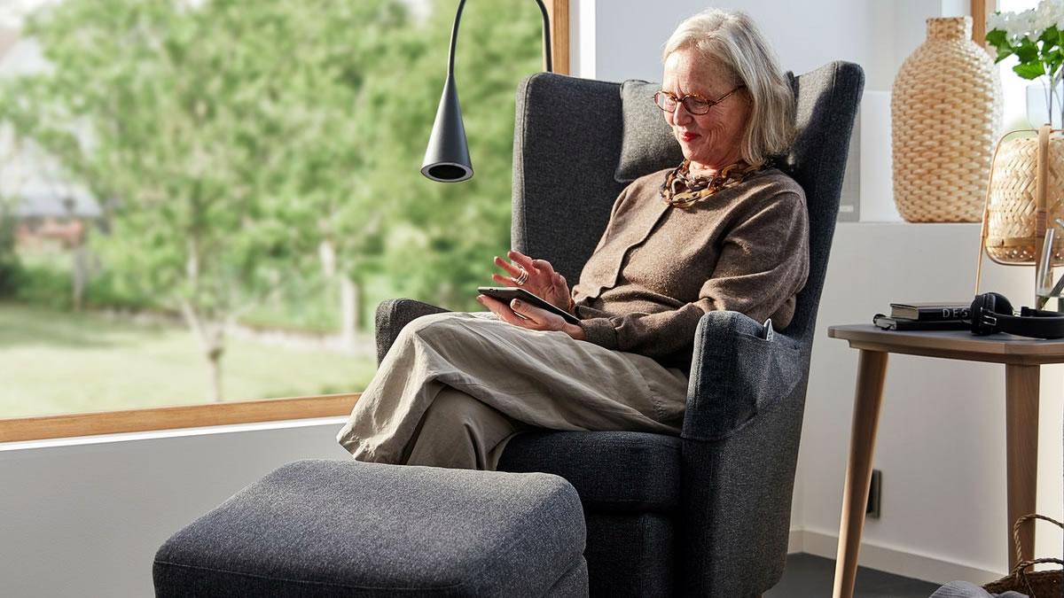 ikea omtanksam fotelja / IKEA 2020.