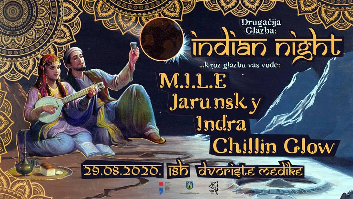 drugačija glazba - indian night - medika 2020