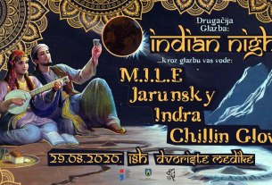 drugačija glazba - indian night - medika 2020