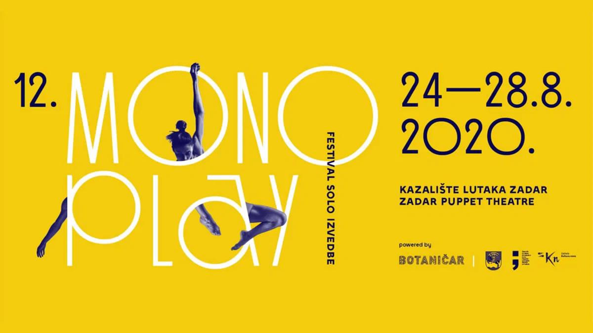 monoplay zadar 2020 - festival solo izvedbe