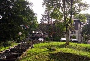"""hotel """"tomislavov dom"""" / sljeme, medvednica, zagreb / srpanj 2014."""