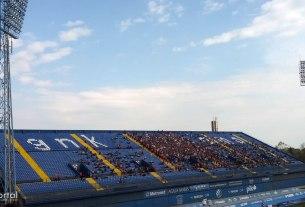 istočna tribina - stadion maksimir - travanj 2014.