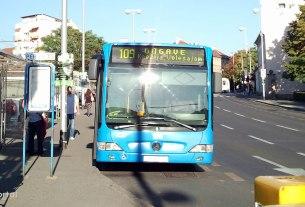 terminal črnomerec, zagreb - zet bus linija 109 - rujan 2012.
