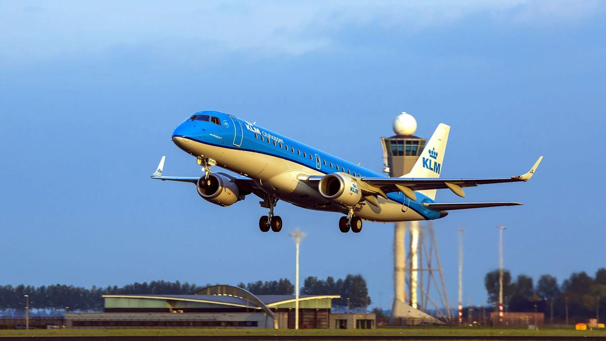 klm airplane 2020