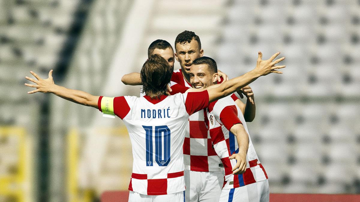 luka modrić, ivan perišić, ma teo kovačić - hrvatska nogometna reprezentacija - 2020