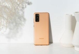 samsung galaxy s20 fe fan edition - cloud orange - 2020