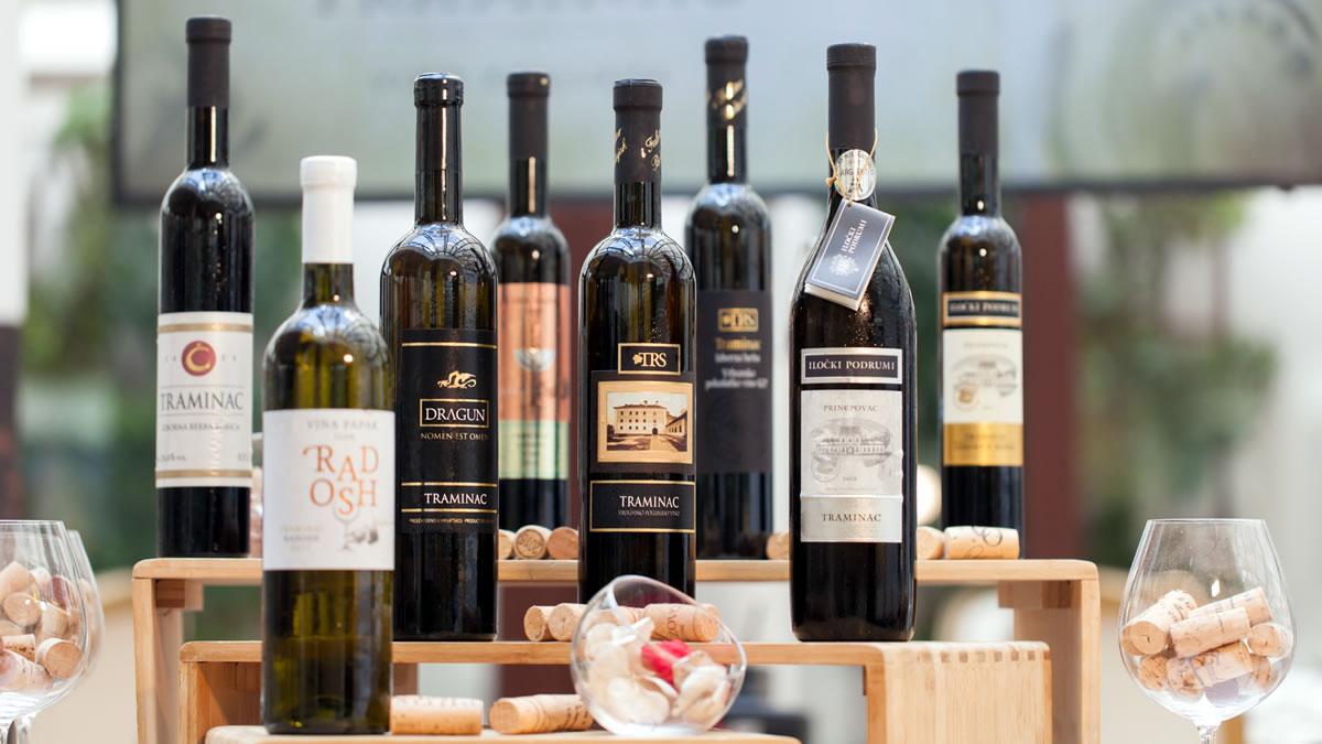 vino traminac - srijemsko vinogorje - 2020