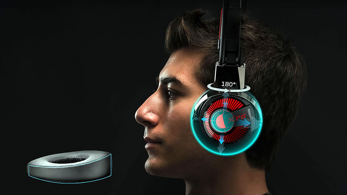 xpg precog analog - gaming slušalice 2020