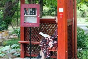 botanički vrt zagreb - knjižnica za besplatnu razmjenu knjiga - julius meinl - 2020