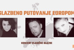 "koncert klasične glazbe ""glazbeno putovanje europom"" - ckz novi zagreb - 2020"