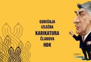 godišnja izložba karikatura članova hdk - galerija zvonimir zagreb 2020