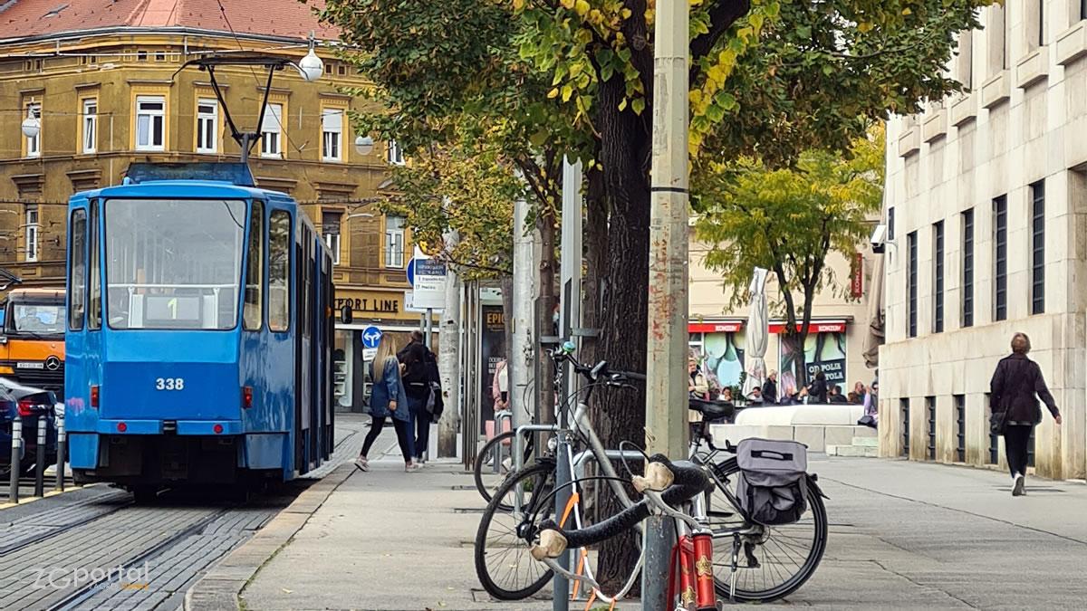 ulica franje račkoga, zagreb - listopad 2020.