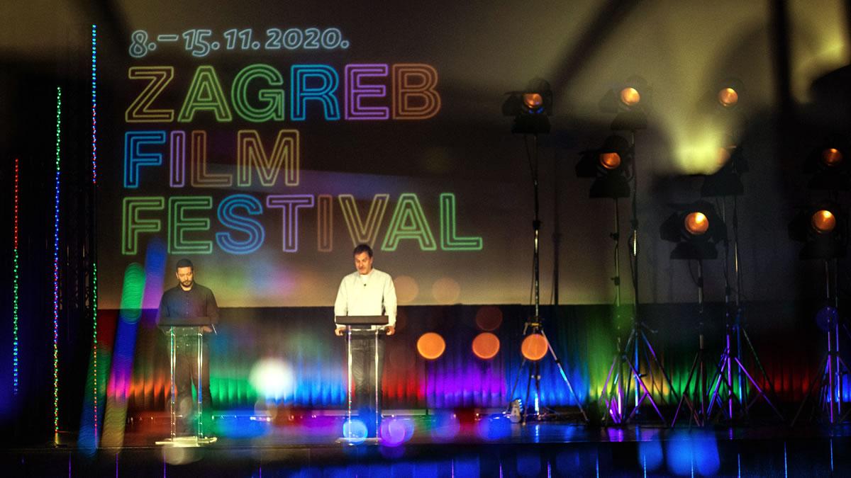 18. zagreb film festival - otvorenje - studeni 2020.