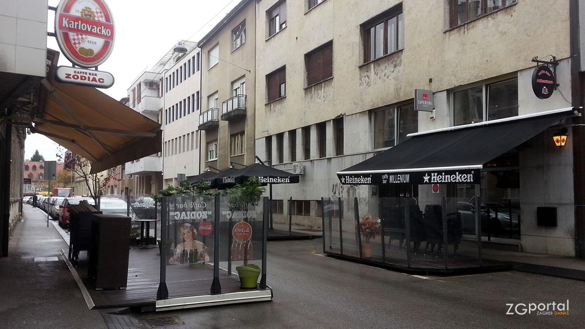 """caffe barovi """"zodiac"""" i """"millenium"""" - nova ves, zagreb - studeni 2017."""