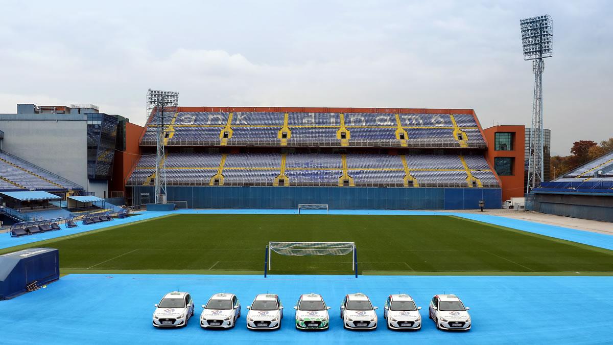 eko taxi - dinamo zagreb - stadion maksimir - 2020