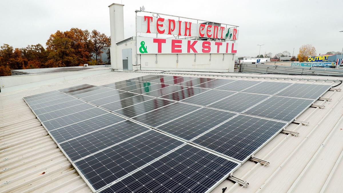 solarna elektrana - tepih centar zagreb 2020