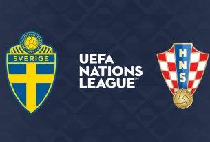 švedska-hrvatska - uefa liga nacija 2020