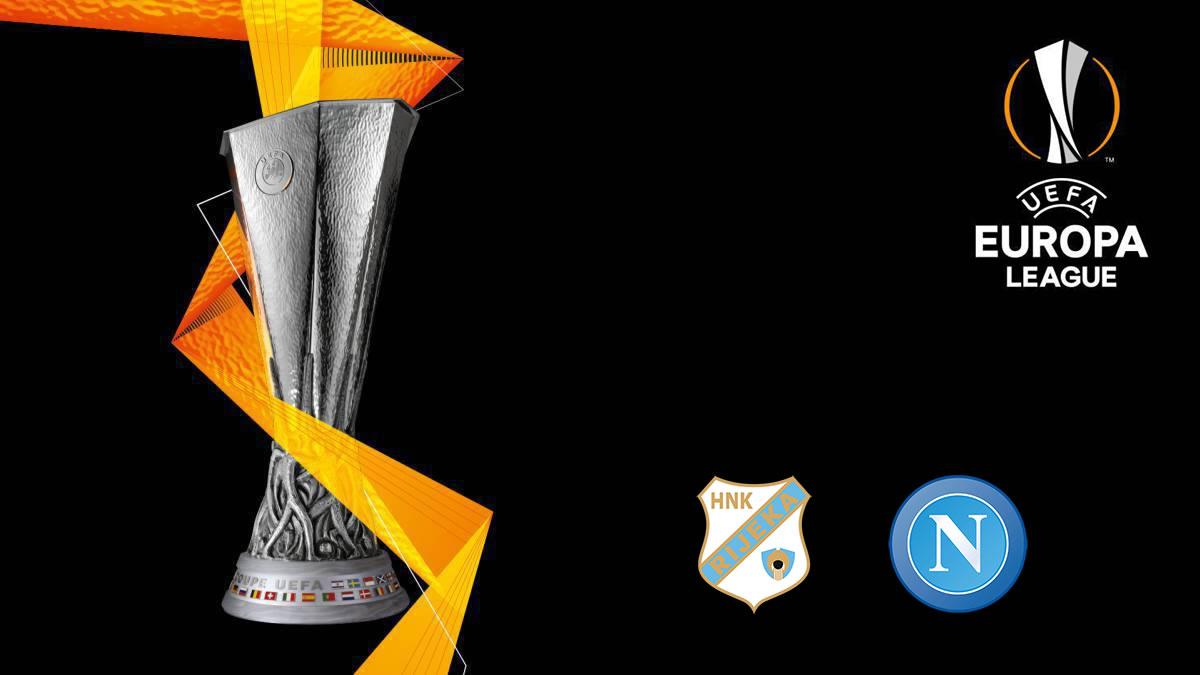 uefa europa league - rijeka - napoli - 2020