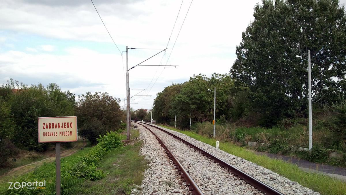 željeznička pruga - trokut, zagreb - rujan 2012.