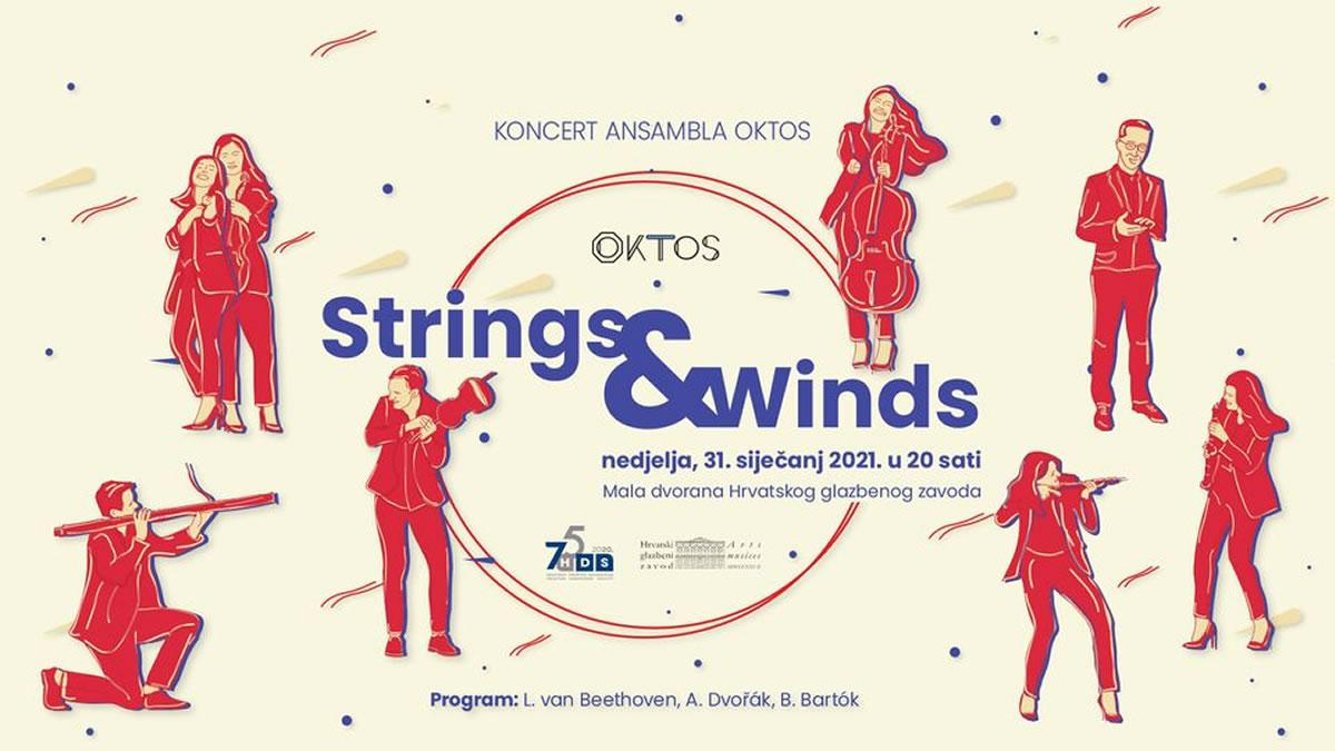 ansambl oktos - strings and winds - hgz zagreb 2021.