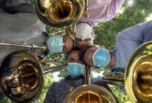 kvartet trombona zagrebačke filharmonije / 2020