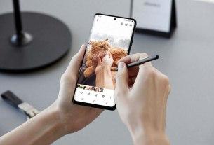 samsung galaxy s21 ultra & s pen - 2021
