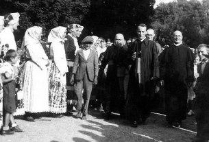 alojzije stepinac, euharistijski kongres, petrinja / 14. kolovoz 1938.