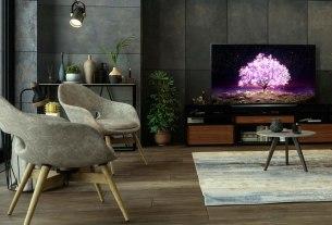 lg oled tv - c1 ambient - 2021.