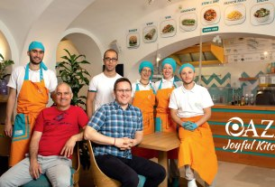 "restoran ""oaza joyful kitchen"" zagreb / 2021."