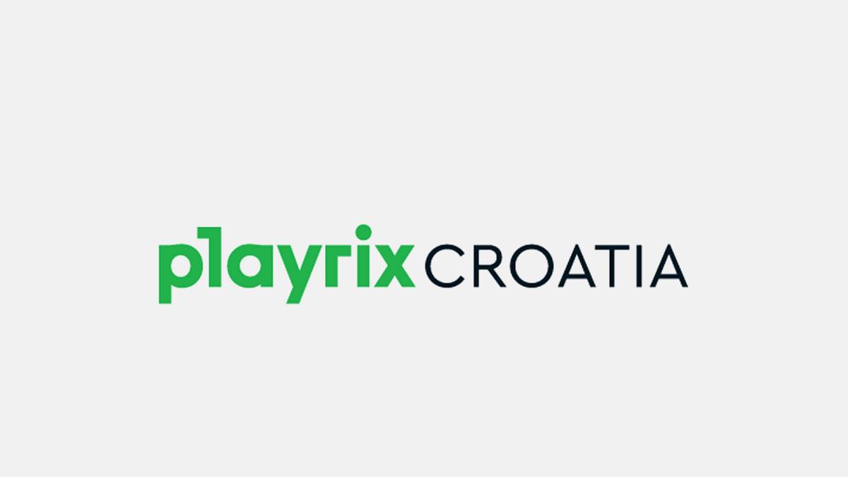 gaming studio playrix croatia / logo 2021.