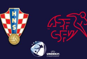 hrvatska - švicarska / croatia - switzerland / euro u21 slovenia hungary 2021
