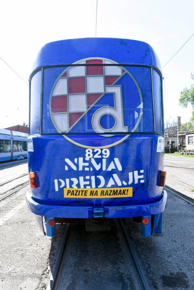 dinamov tramvaj / zagreb, travanj 2021.