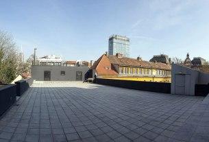 krovna terasa - zagrebački plesni centar - 2021.