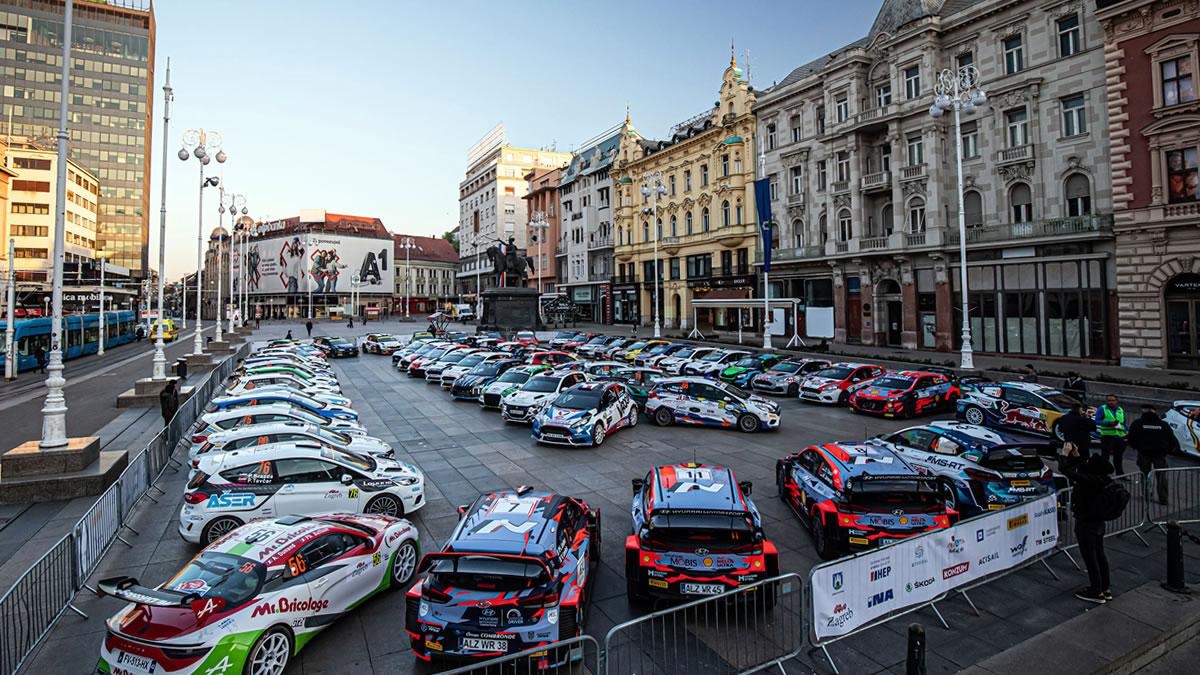 wrc croatia rally - cars on display / zagreb, croatia, 2021 / foto: uroš modlić