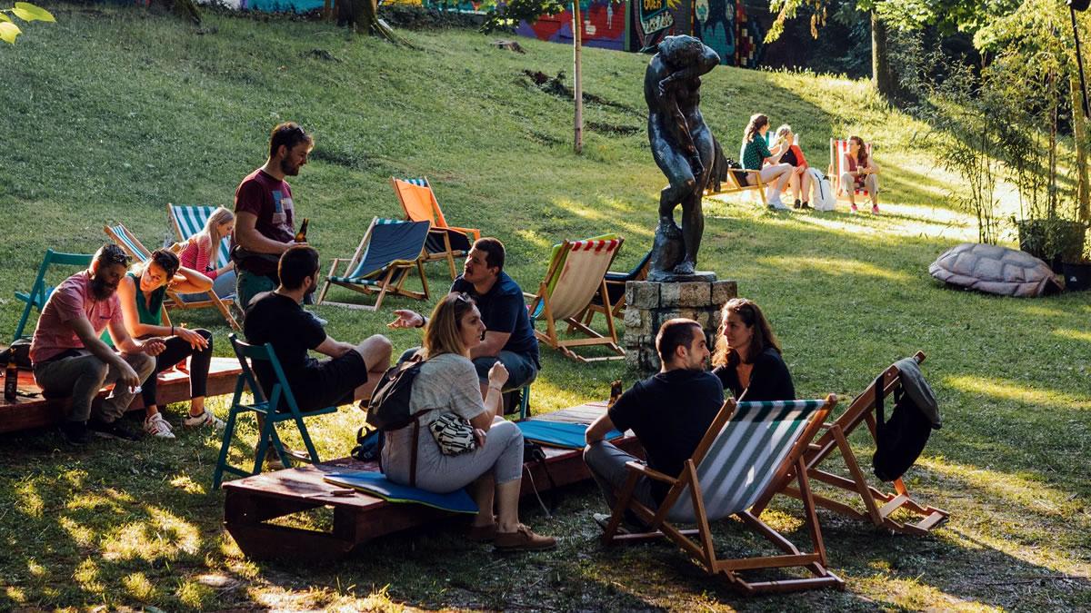art park ribnjak zagreb 2021 - open air festival