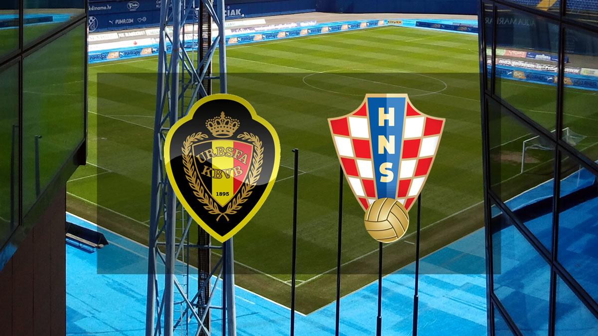 belgija - hrvatska / football /2021.