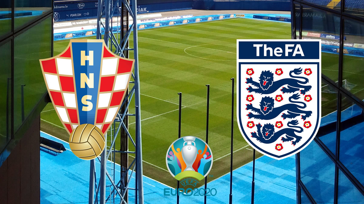 hrvatska - engleska / euro 2020 / croatia - england