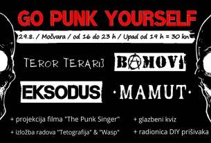 go punk yourself - močvara zagreb - 2021.