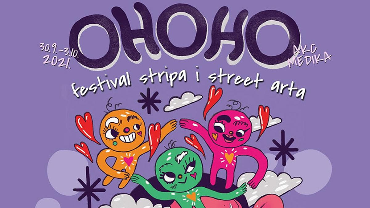 ohoho 2021 - festival stripa i ulične umjetnosti