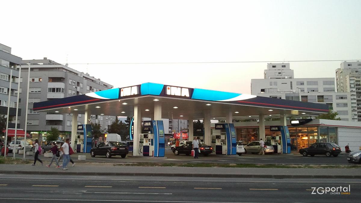 ina - benzinska postaja zagreb-dubrava - rujan 2021.