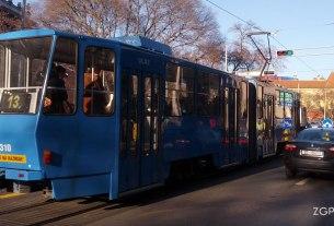 tramvajski promet / linija 13 / zet zagreb / tatra kt4 / studeni 2016.