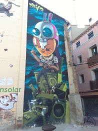 """Danjer. """"Solar del Conejo"""", Calle Coso"""