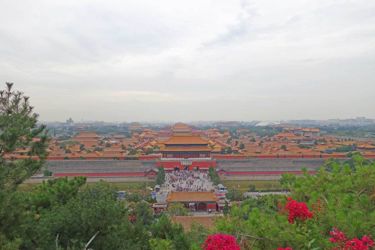 Forbidden City from Jingshan