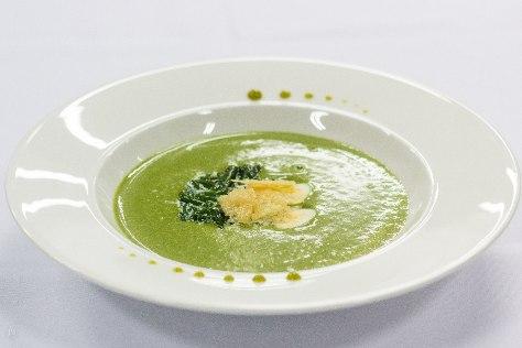 Крем суп из курицы и шпината. Худеем и преображаемся.