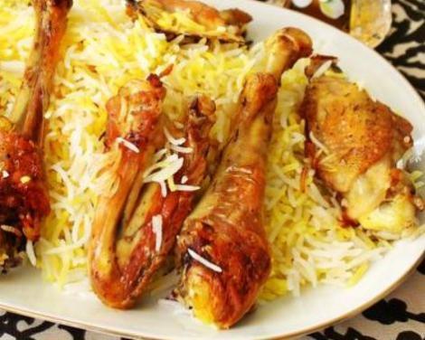 Азербайджанский плов с курицей. Самый простой вариант без лука.